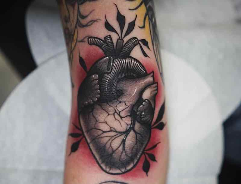The Best Anatomical Heart Tattoos