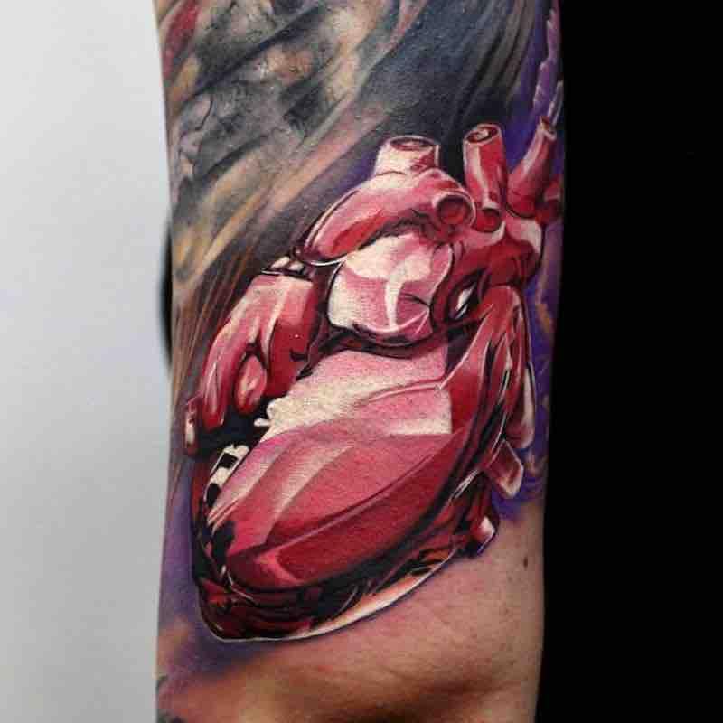 Heart Tattoo by Alexander Voron