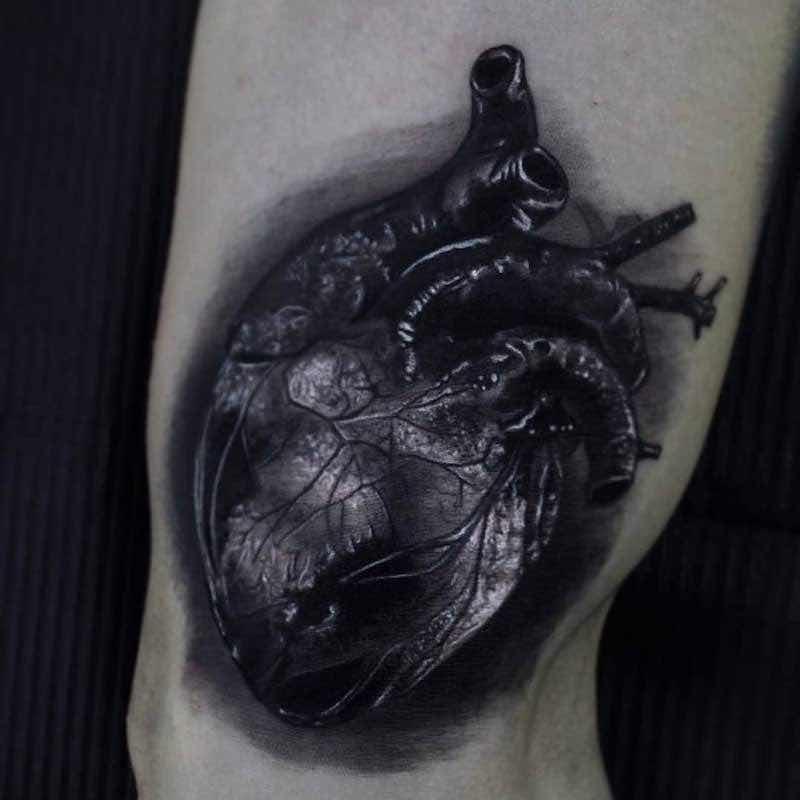 Heart Tattoo by Ferraro Fabrizio
