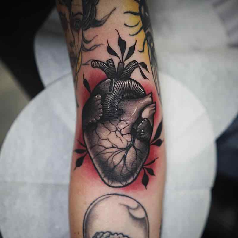Heart Tattoo by Jason James Smith