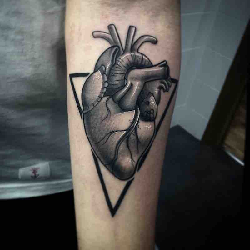 Heart Tattoo by Myrhwan Cortes