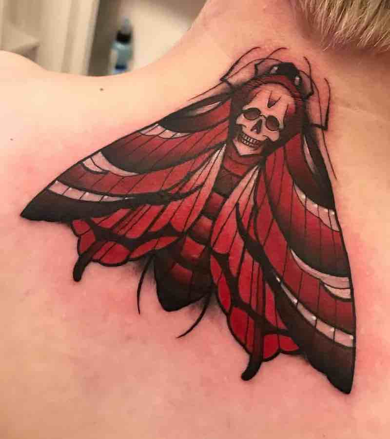 Moth Tattoo 2 by Fraser Peek