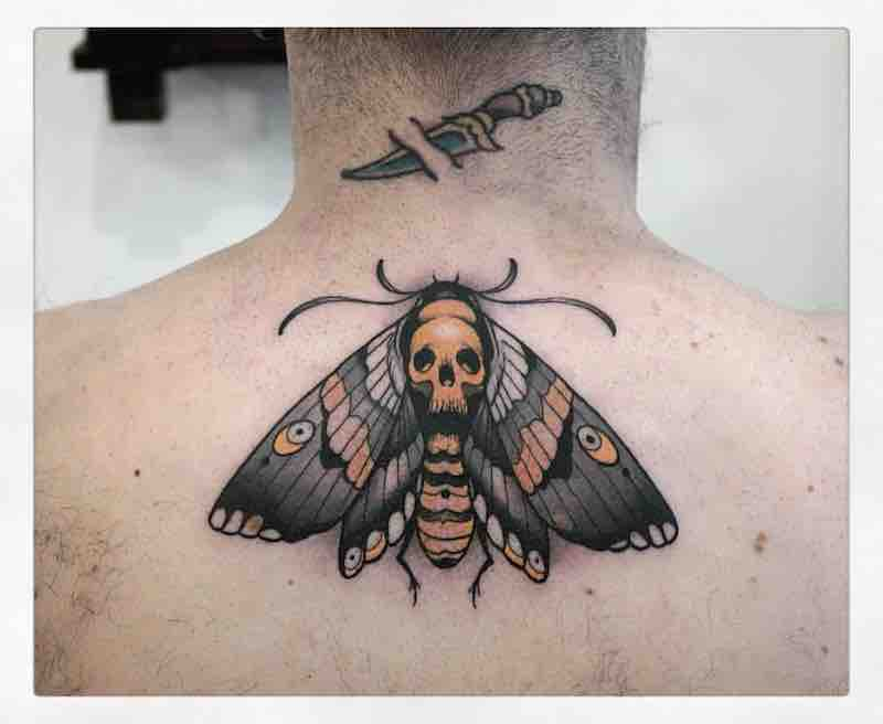 Moth Tattoo 2 by Gianpiero Cavaliere