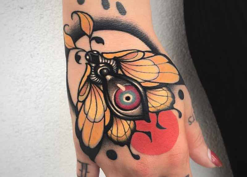 Moth Tattoo Alan Ferioli