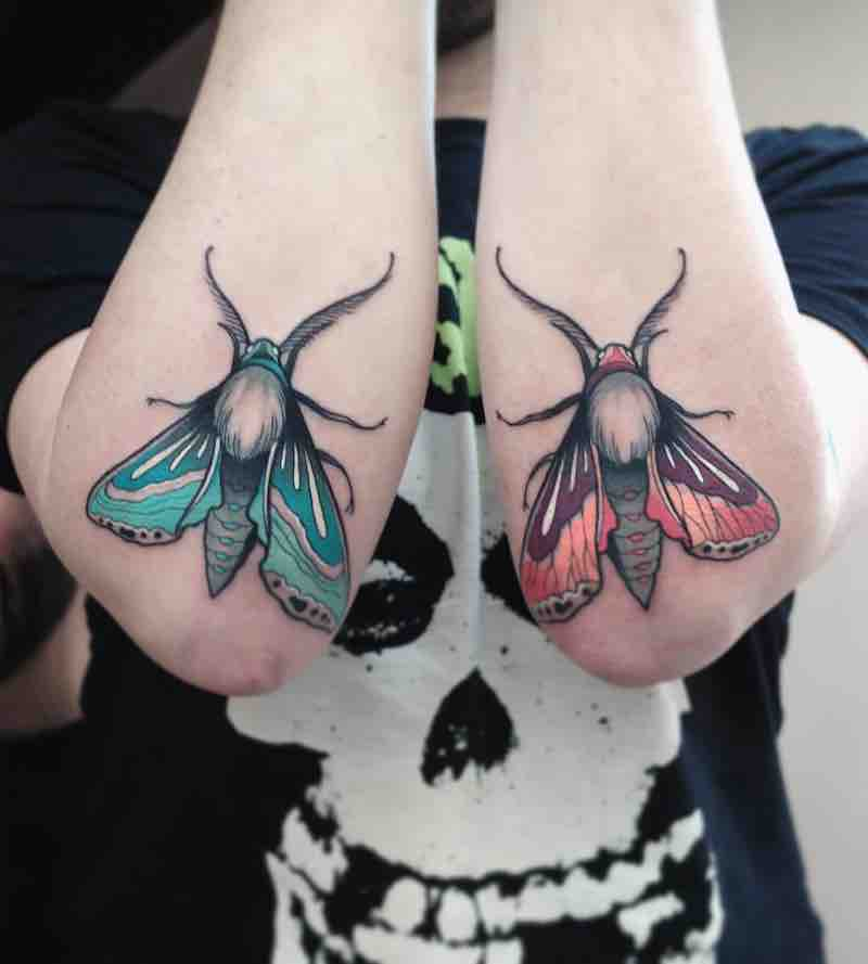 Moth Tattoo by Gianpiero Cavaliere