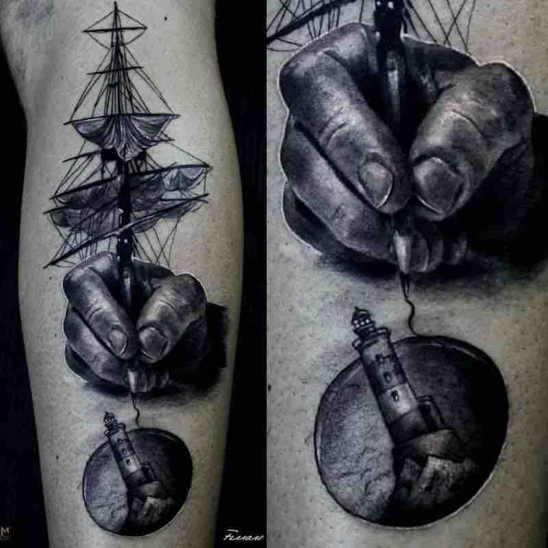 Surreal Tattoo 2 by Ferraro Fabrizio