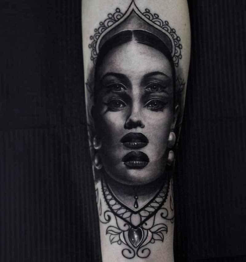 Surreal Tattoo by Ferraro Fabrizio