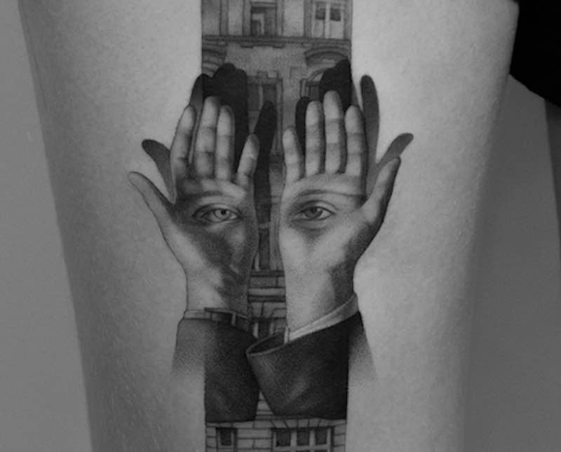 Surreal Tattoo by Paweł Indulski cover