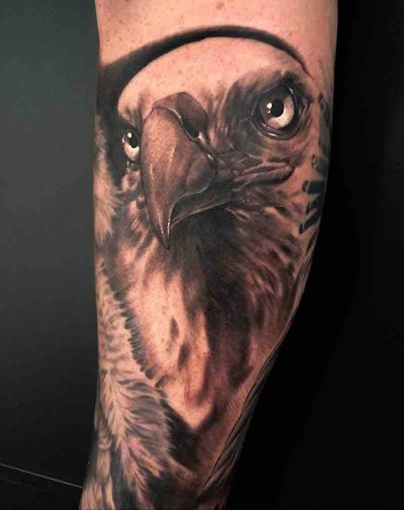 Bird Tattoo 2 by Dean Lawton