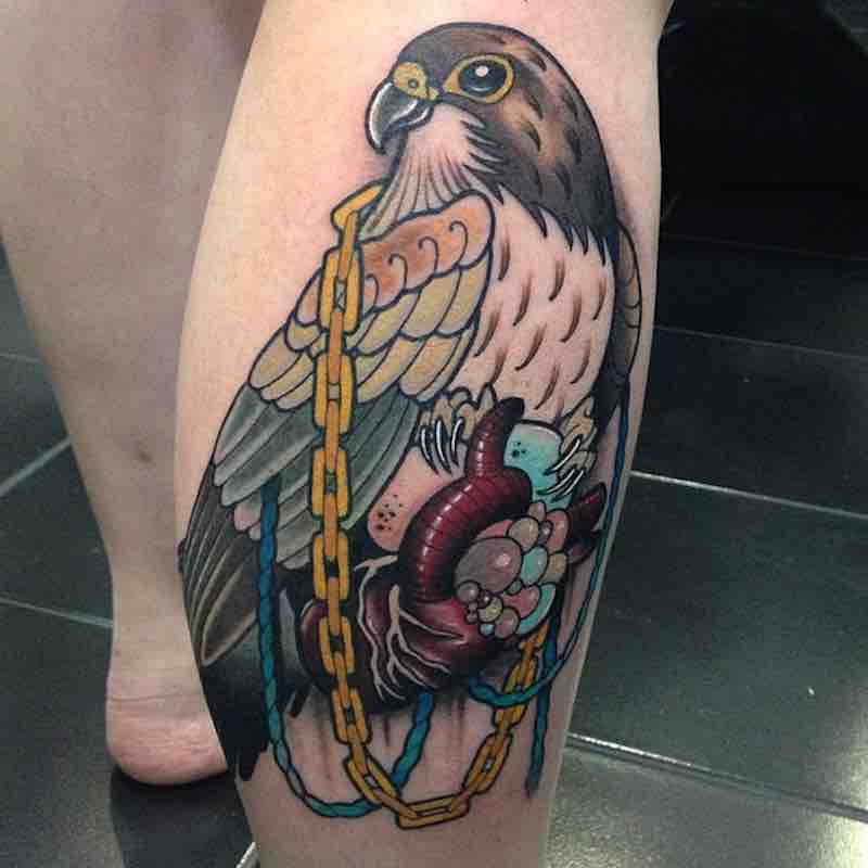 Bird Tattoo 2 by Heath Clifford