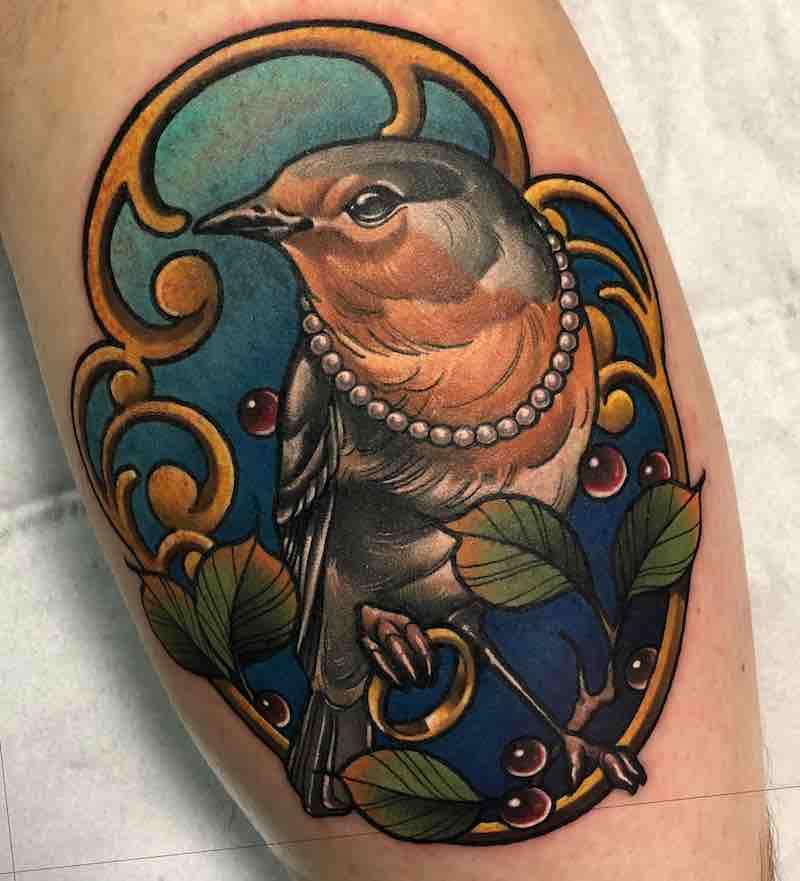 Bird Tattoo 2 by Matt Renshaw
