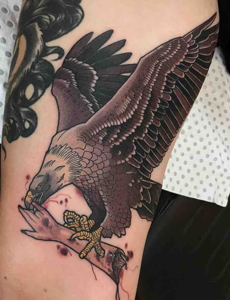 Bird Tattoo 4 by Drew Shallis