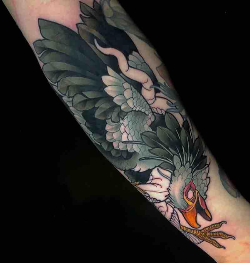 Bird Tattoo by Billy Weigler