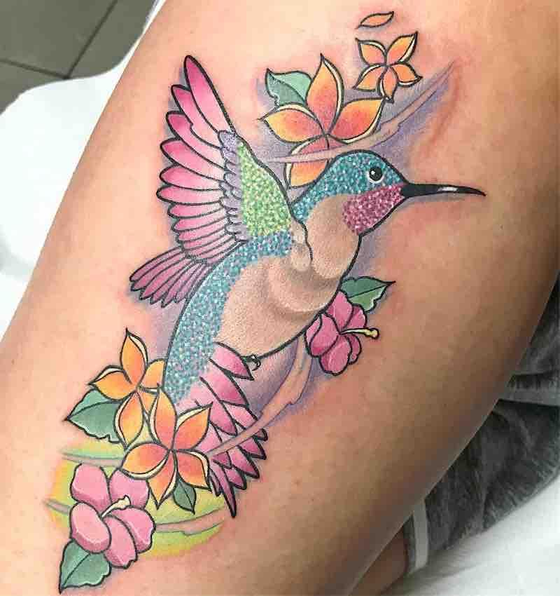 Bird Tattoo by Chris Hill