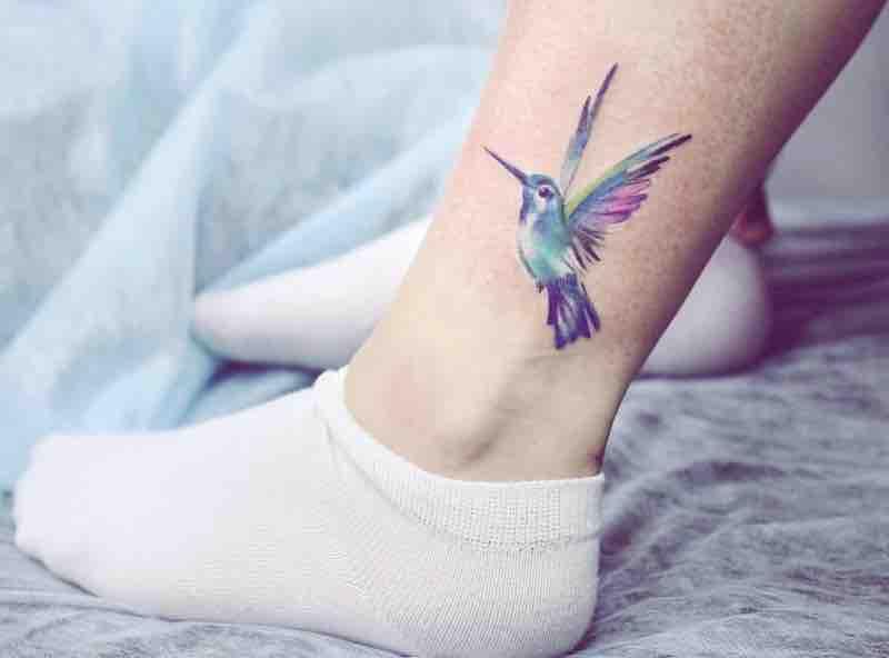 Bird Tattoo by Harza Tattoo
