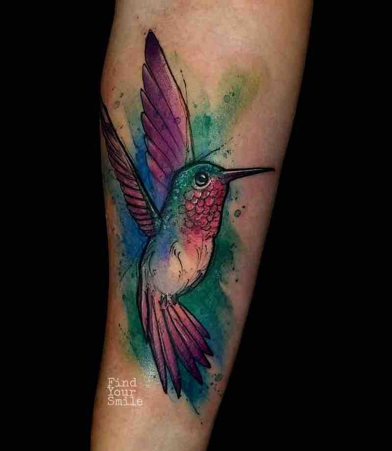 Bird Tattoo by Russell Van Schaick