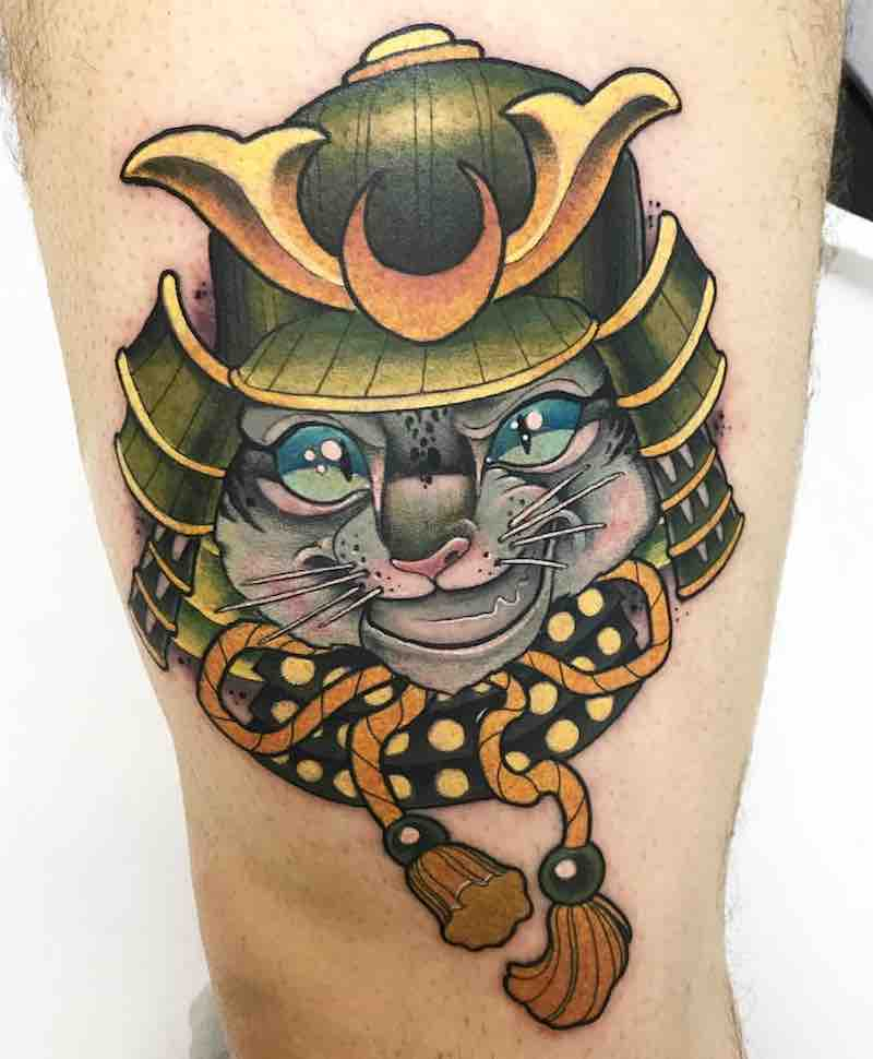 Cat Tattoo by JotaPaint