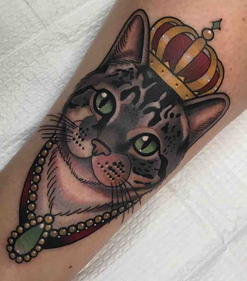 Cat Tattoo by Patrick Whiting
