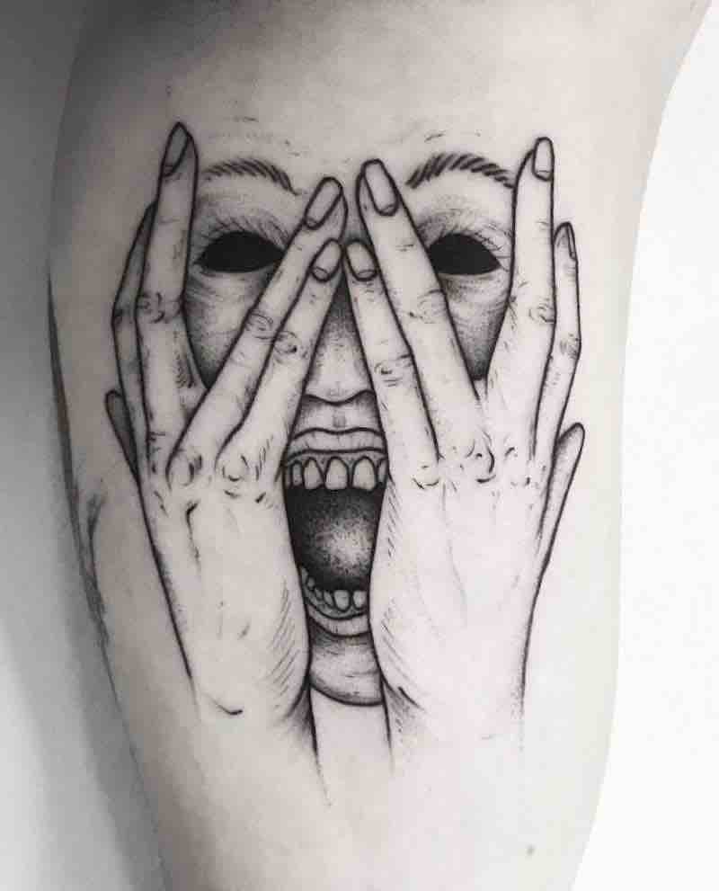 Creepy Tattoo 3 by Weep and Forfeit