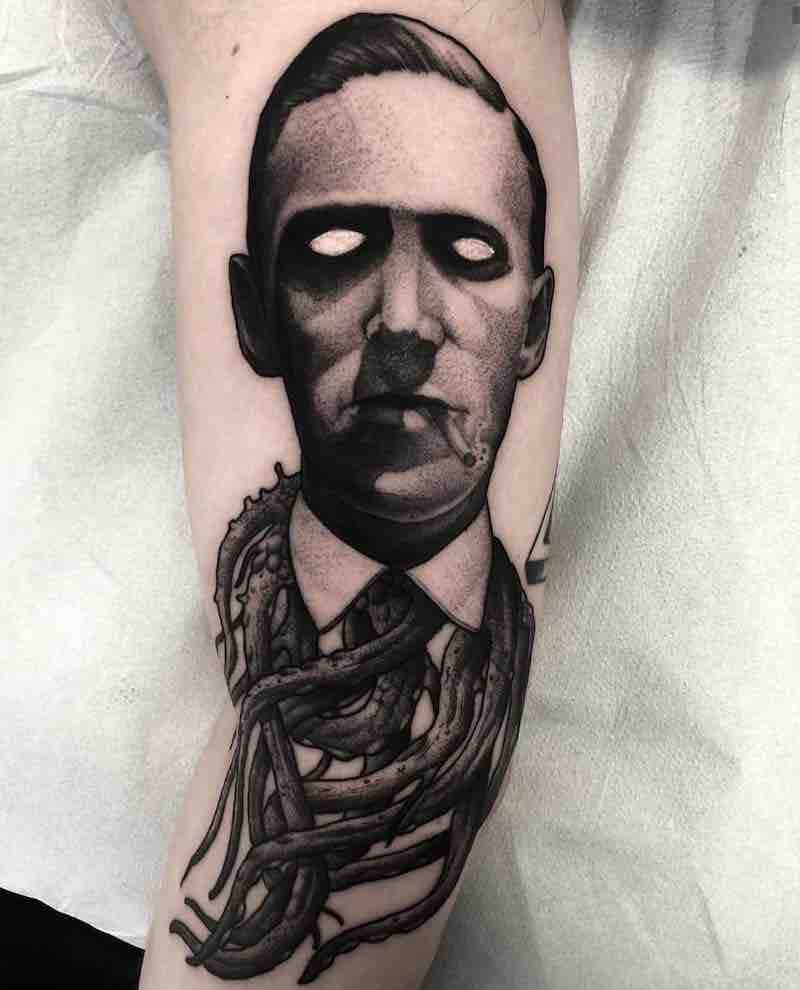Creepy Tattoo by El UF
