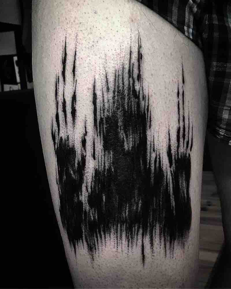 Creepy Tattoo by Gioele Cassarino