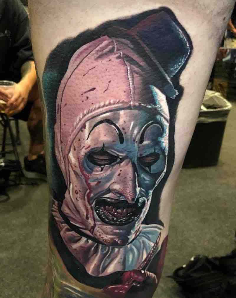 Creepy Tattoo by Mike Carro