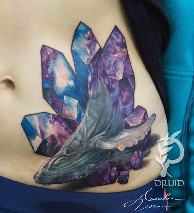 Crystal Tattoo by Alexander Voron