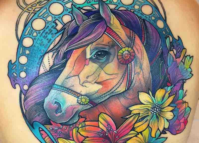 Horse Tattoo Katie Shocrylas