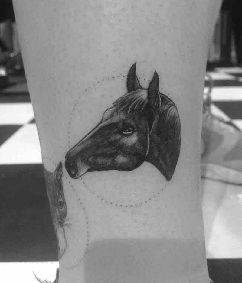 Horse Tattoo by Alexandyr Valentine