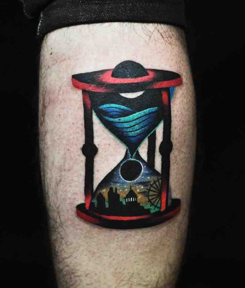 Hourglass Tattoo 2 by David Peyote