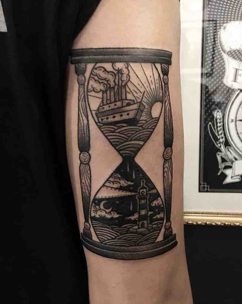 Hourglass Tattoo 2 by Nhat Be
