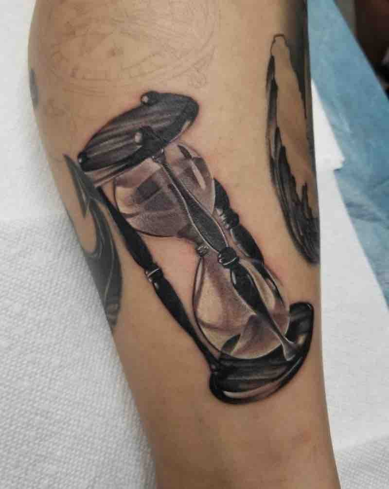 Hourglass Tattoo by James Foltz
