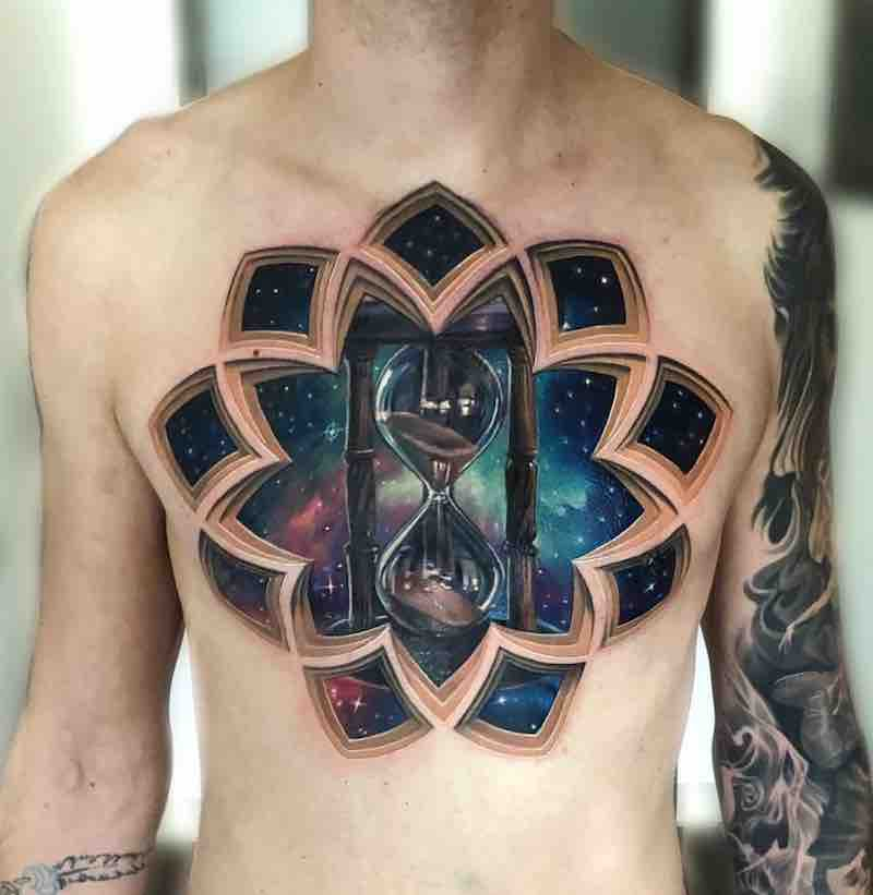 Hourglass Tattoo by Jesse Rix