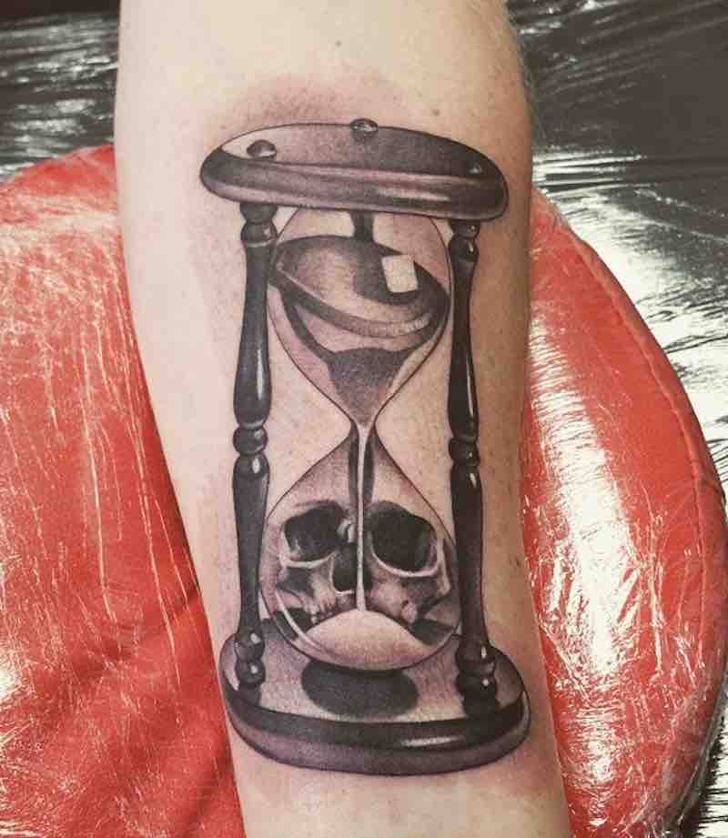 Hourglass Tattoo by Rich Knight