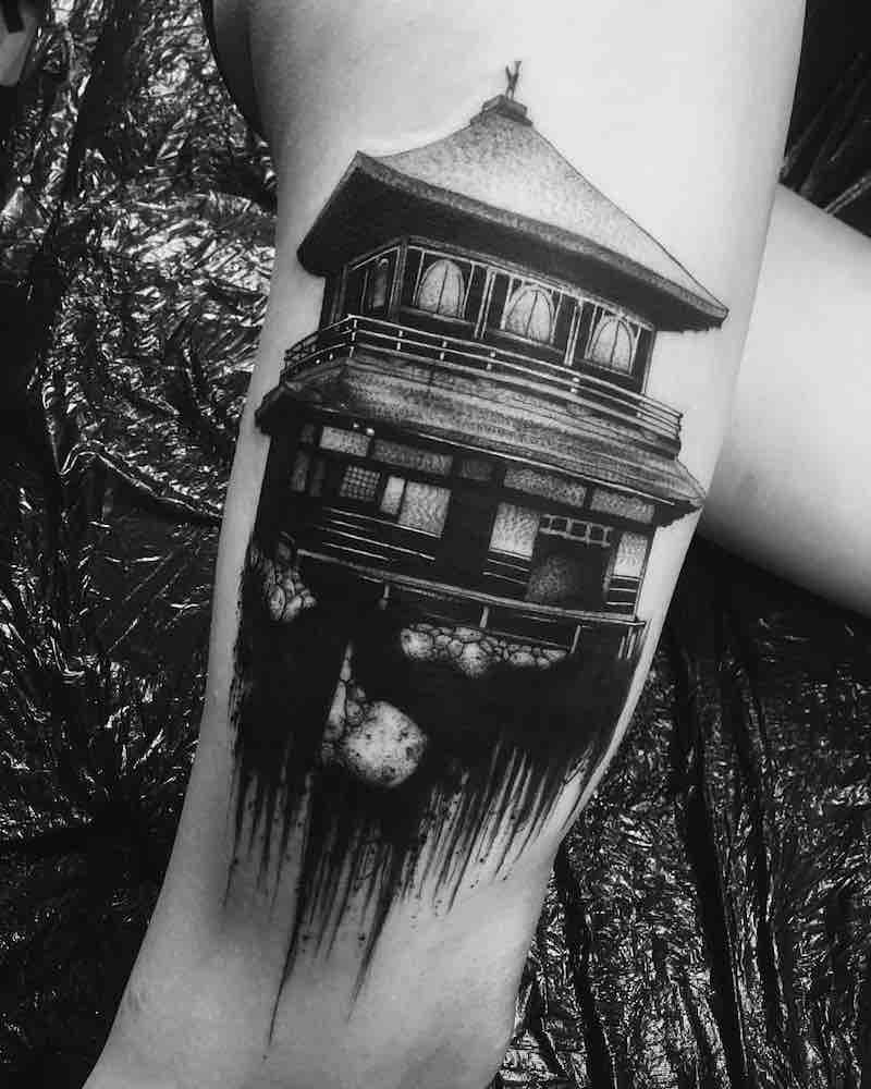 House Tattoo 2 by El Nigro