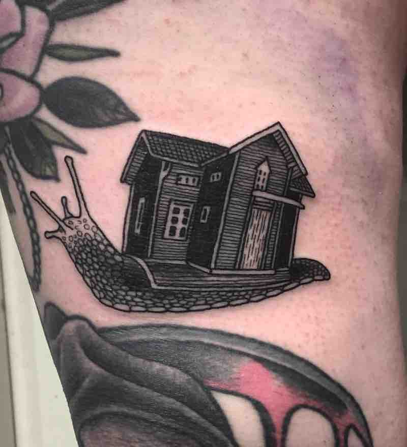 House Tattoo 2 by Jack Ankersen
