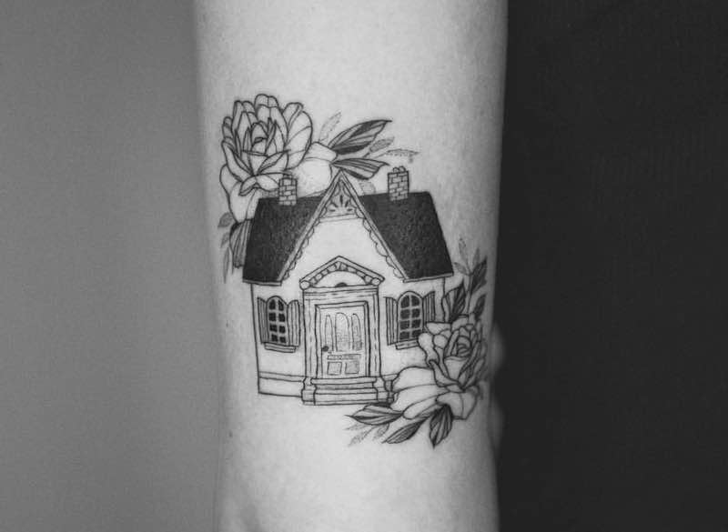 22 of the Best House Tattoos