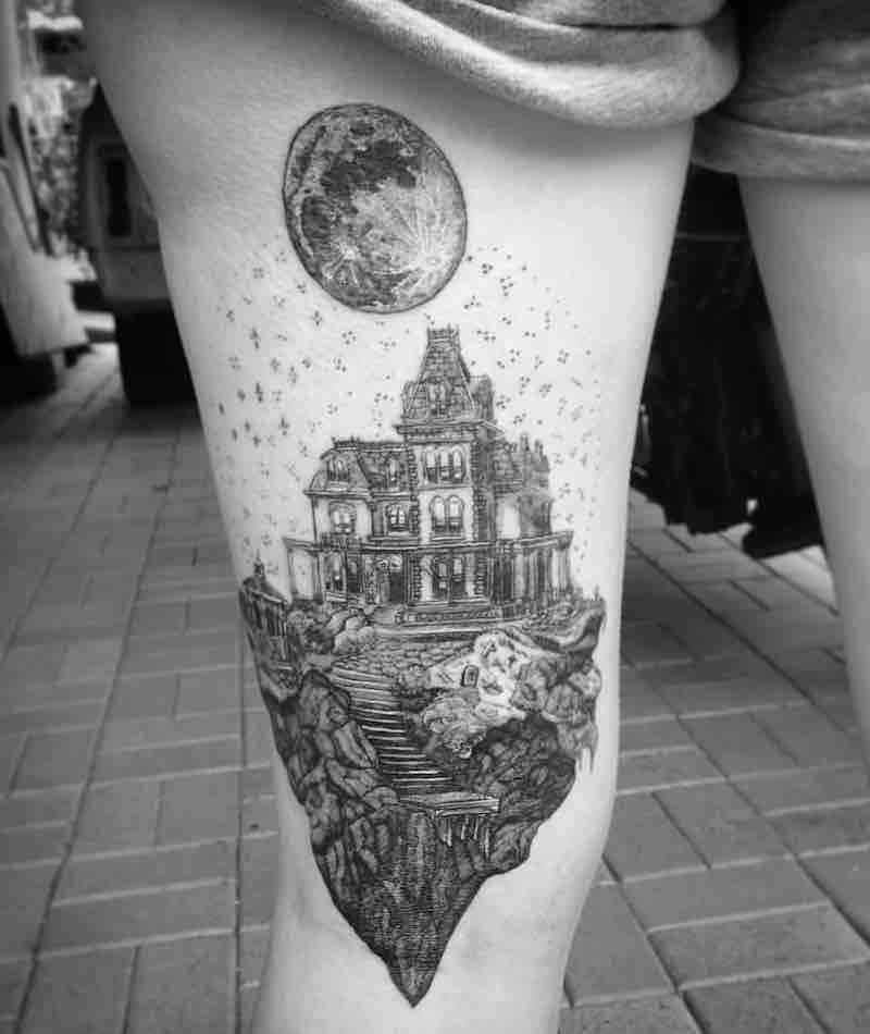 House Tattoo by Alexandyr Valentine