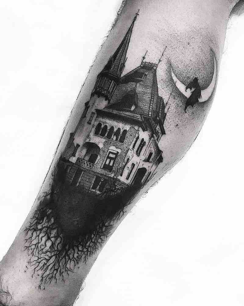 House Tattoo by El Nigro