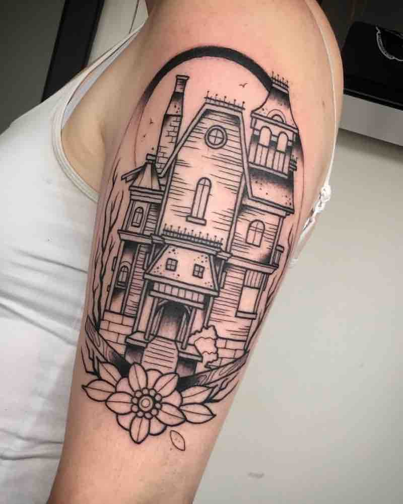 House Tattoo by Fraser Peek