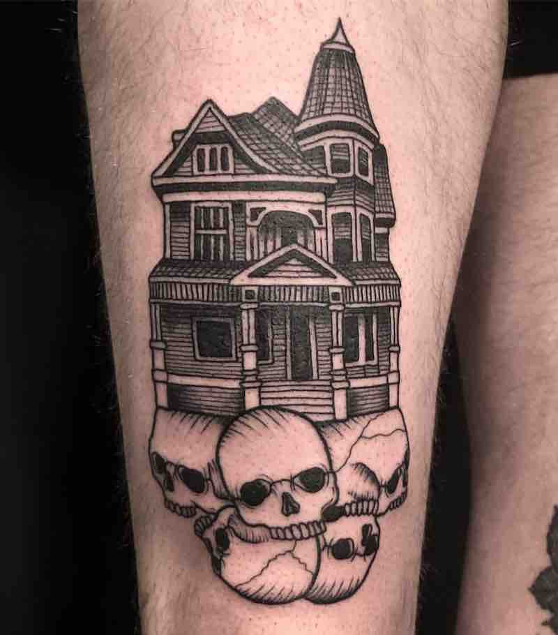 House Tattoo by Jack Ankersen