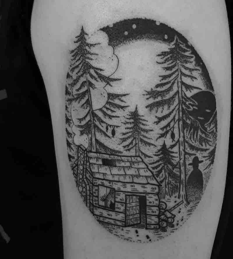 House Tattoo by Jess Oxley