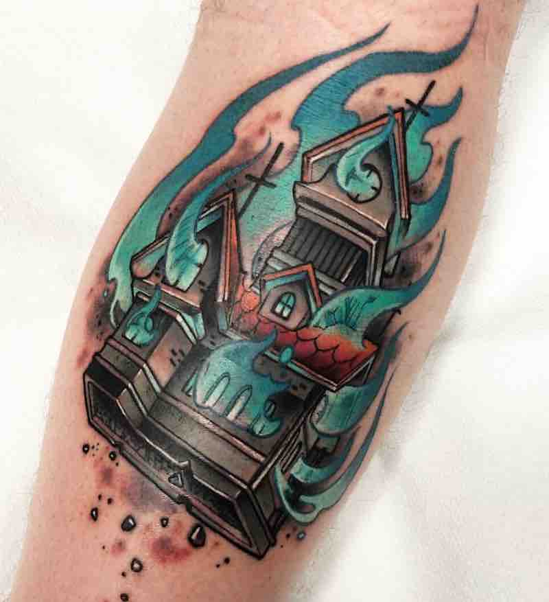 House Tattoo by JotaPaint