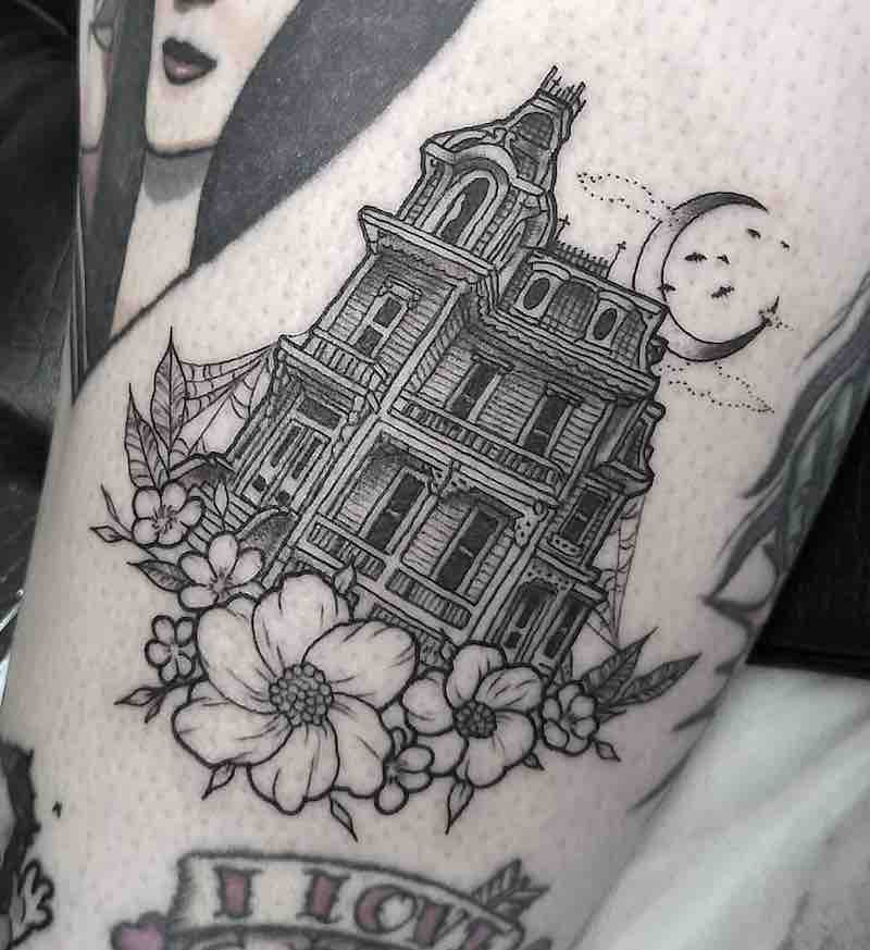 House Tattoo by Katherine Jarre