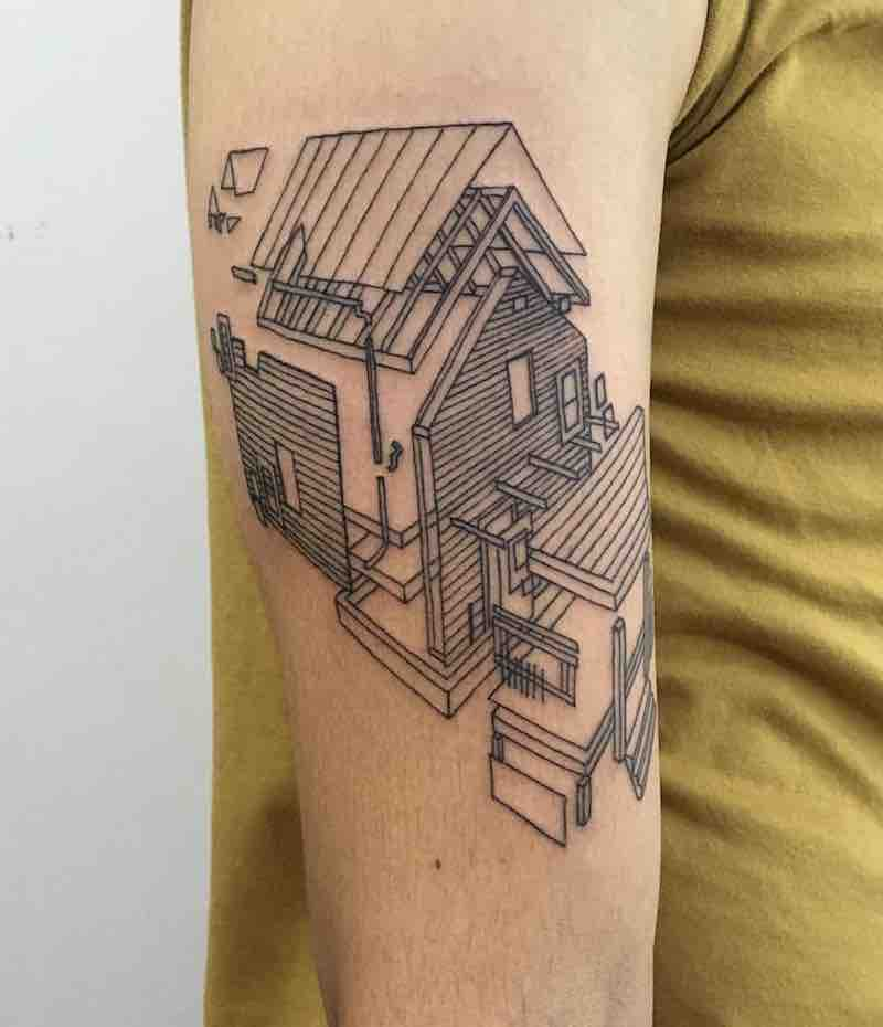House Tattoo by Kenfa Wong