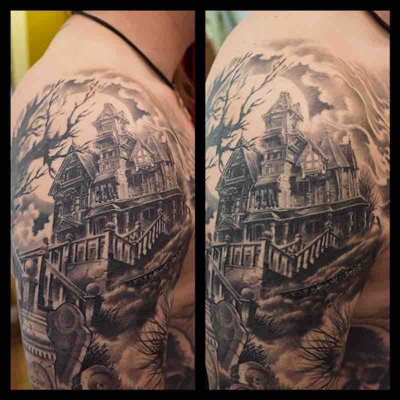 House Tattoo by Sonny Superglue