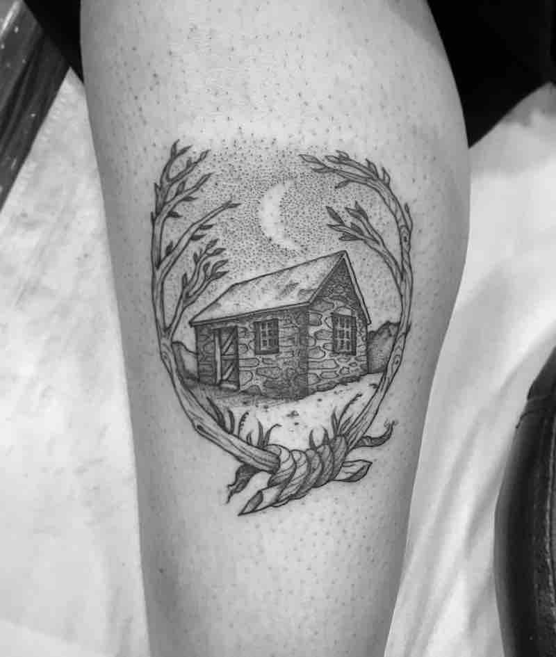 House Tattoo by Tom Tom Tatt