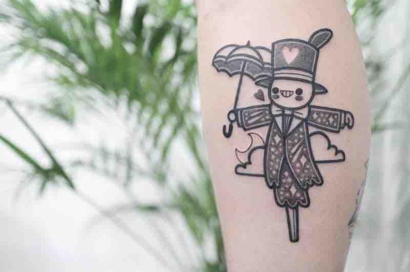 Turnip Head Tattoo by Hugo Tattooer