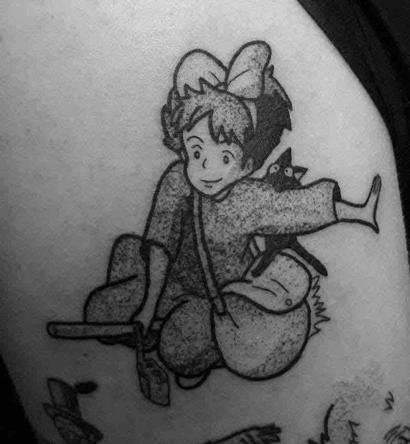 Kikis Delivery Service Tattoo 4 by Jess Oxley