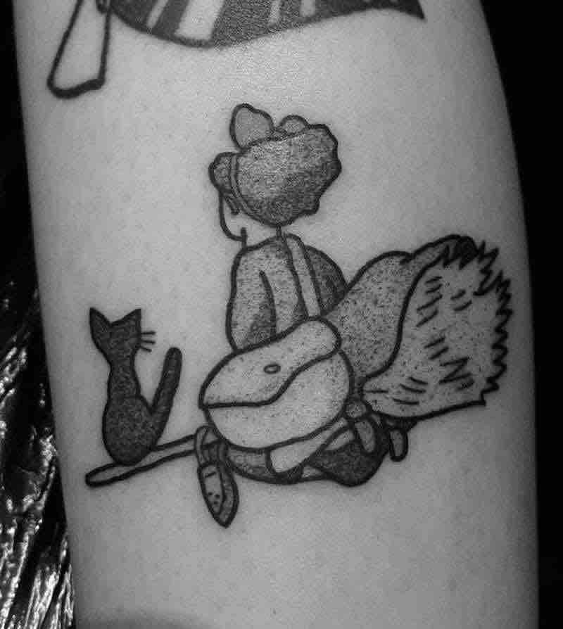 Kikis Delivery Service Tattoo 6 by Jess Oxley